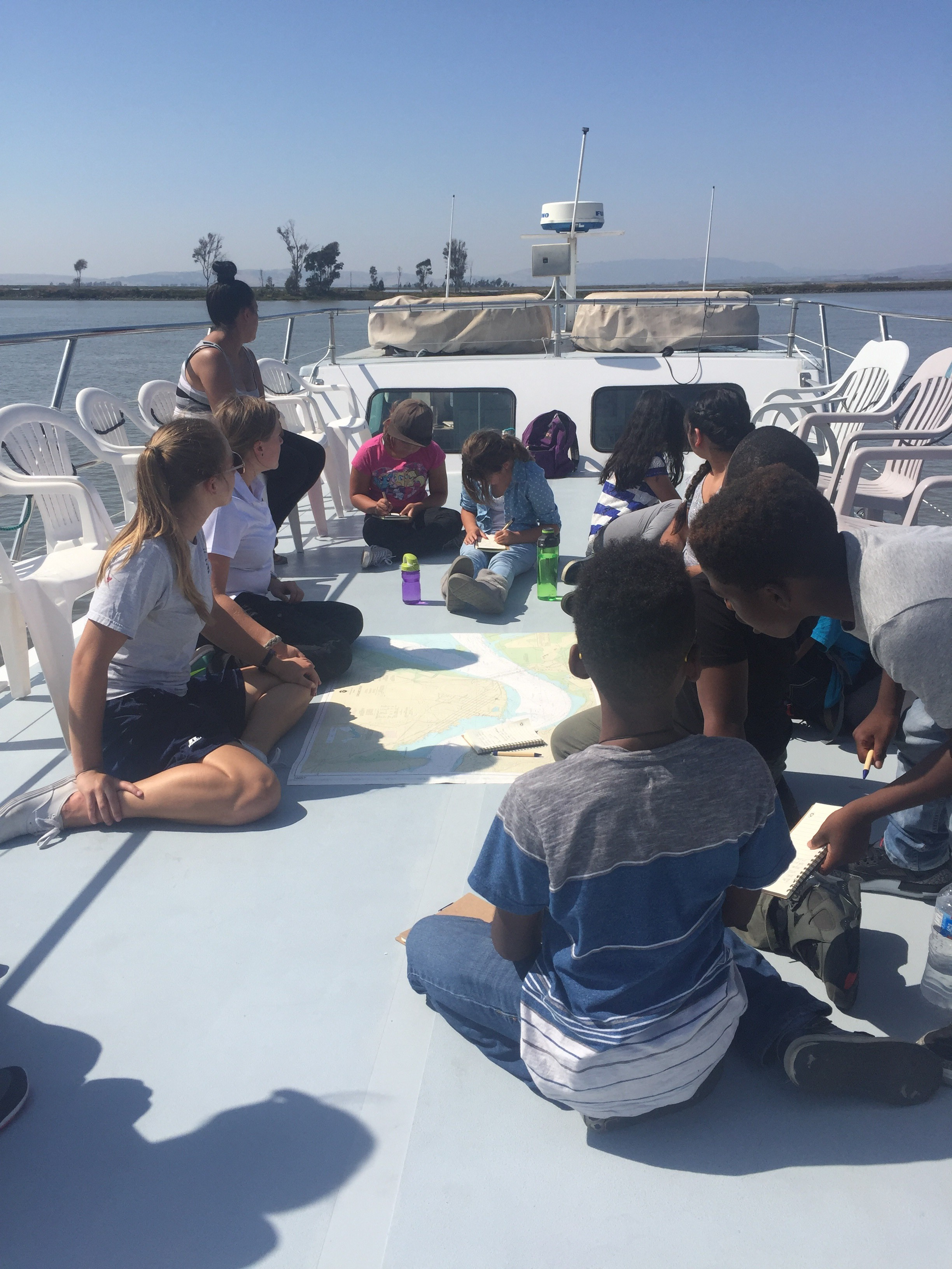 Cal Maritime Cadets Lead Fifth Graders on Marine Science Cruise