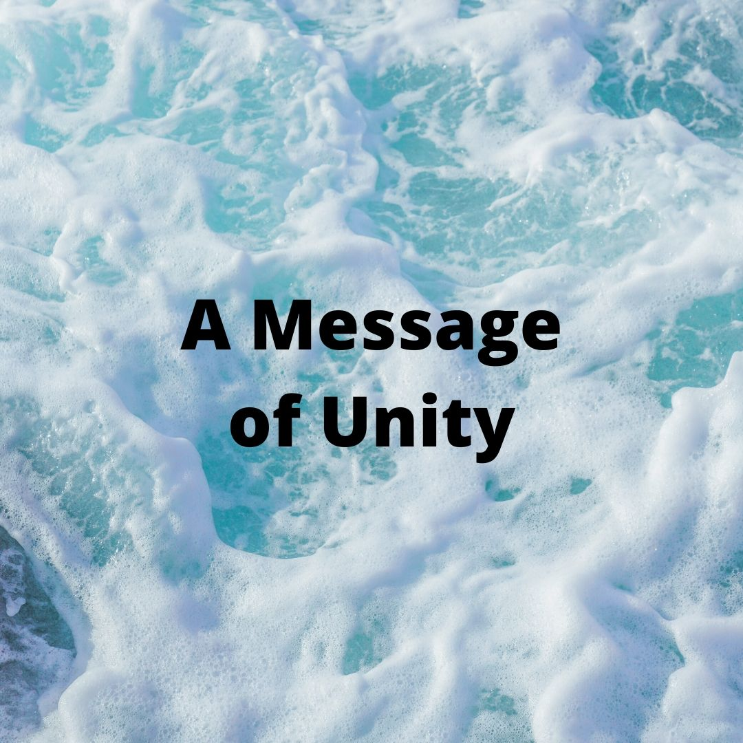 A message of unity