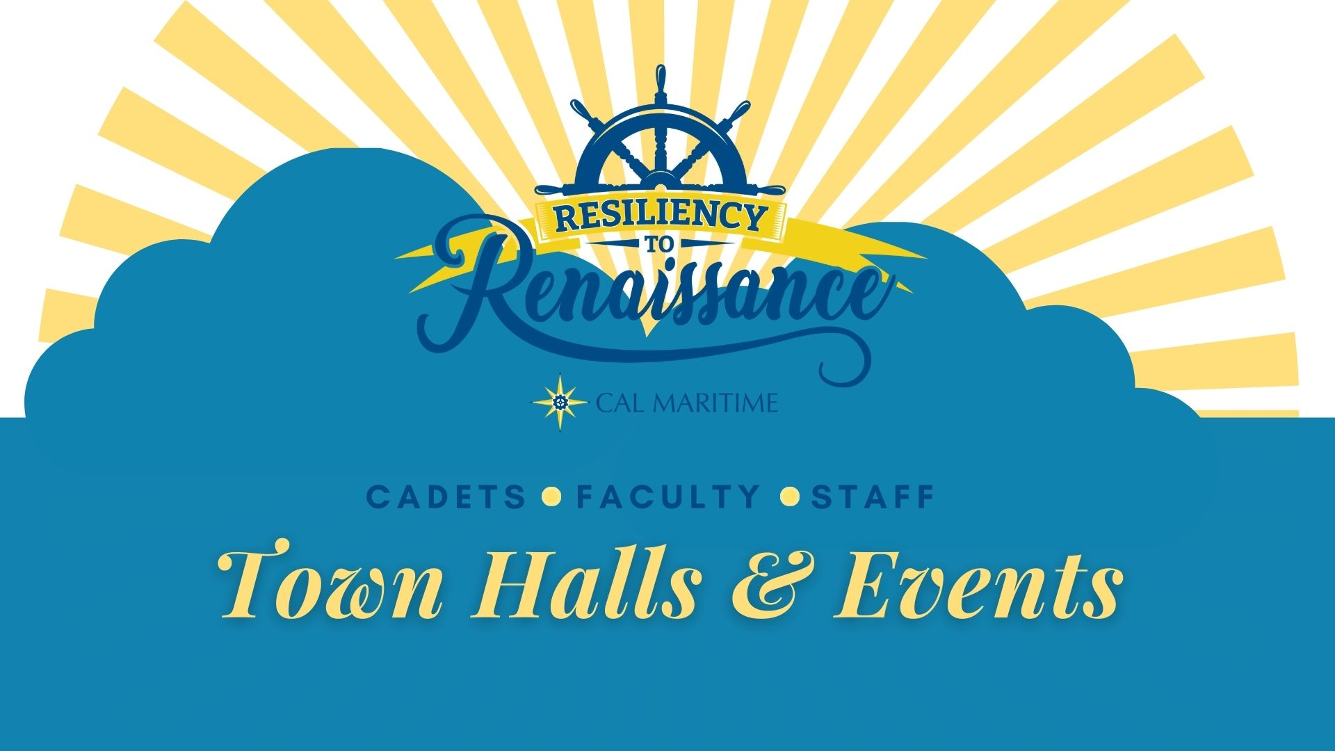 Convocation Town Halls and Events banner