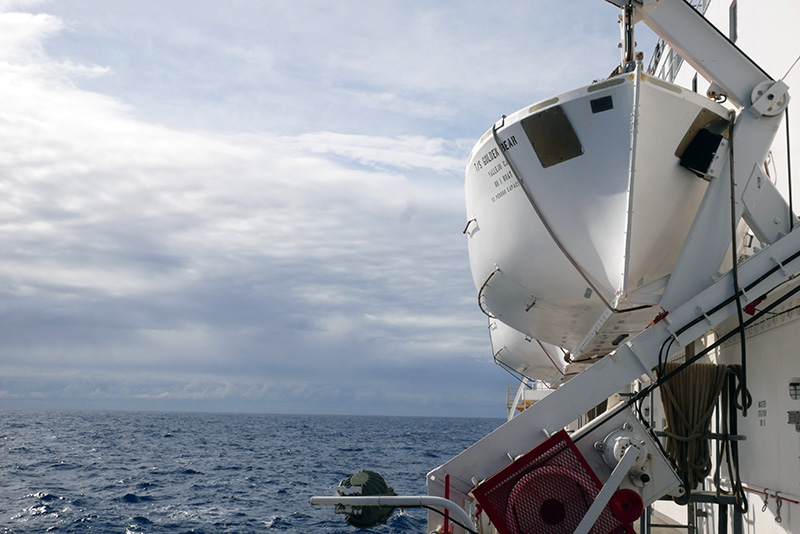View from Starboard side